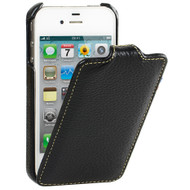 Decoded Vintage Leather Case Apple iPhone 4 / 4S Black