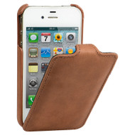 Decoded Vintage Leather Case Apple iPhone 4 / 4S Brown