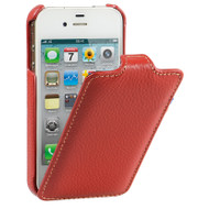 Decoded Vintage Leather Case Apple iPhone 4 / 4S Red