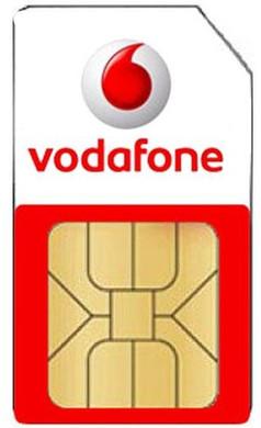 Vodafone Prepaid+ 3-in-1 Simkaartpakket