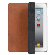 Decoded Leather Front & Back Cover iPad 2 / 3 / 4 Vintage Brown