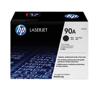 HP 90A LaserJet Toner Zwart (CE390A)