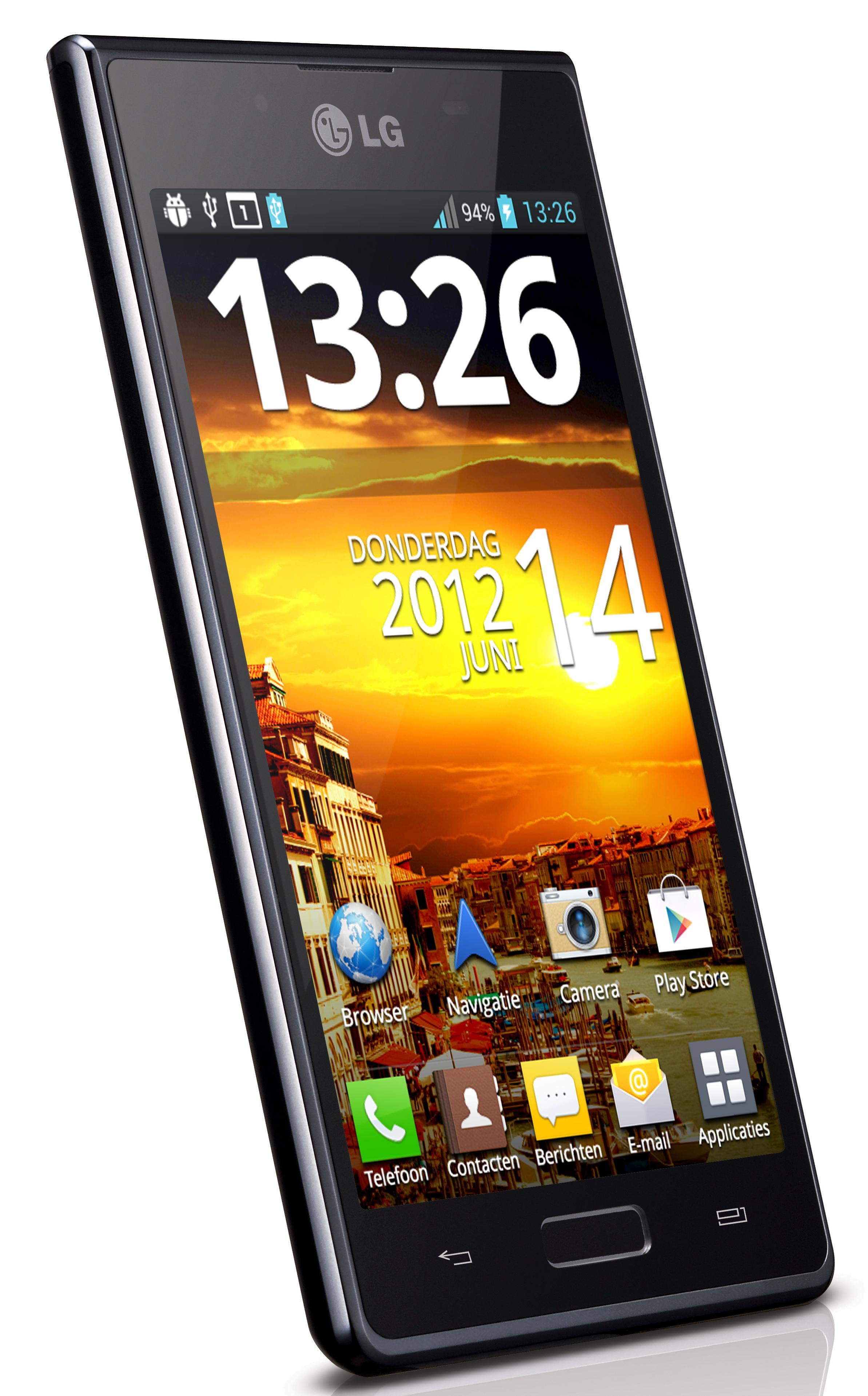 LG Optimus L7 Full Black