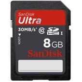 SanDisk SDHC Ultra 8 GB Class 10