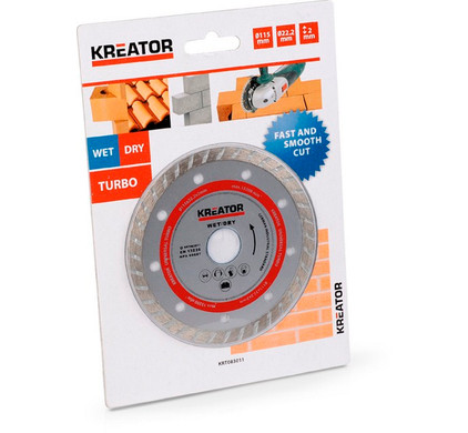 Kreator Diamantschijf Turbo 115 mm