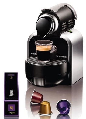 magimix m100 automatic nespresso zilver coolblue. Black Bedroom Furniture Sets. Home Design Ideas