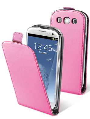 Muvit Slim Case Samsung Galaxy S III Roze