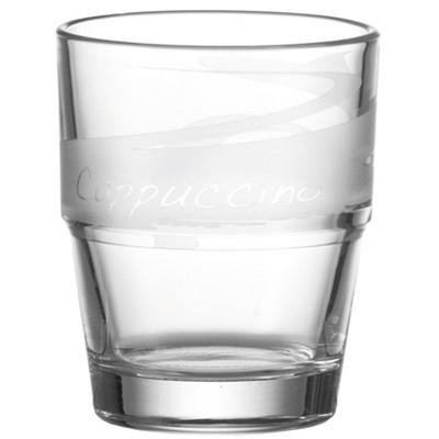 Leonardo 6 Cappuccino Glazen 0,3 L