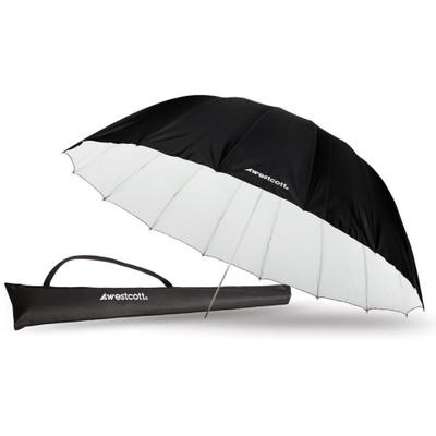 Westcott 213 cm White/Black Parabolic