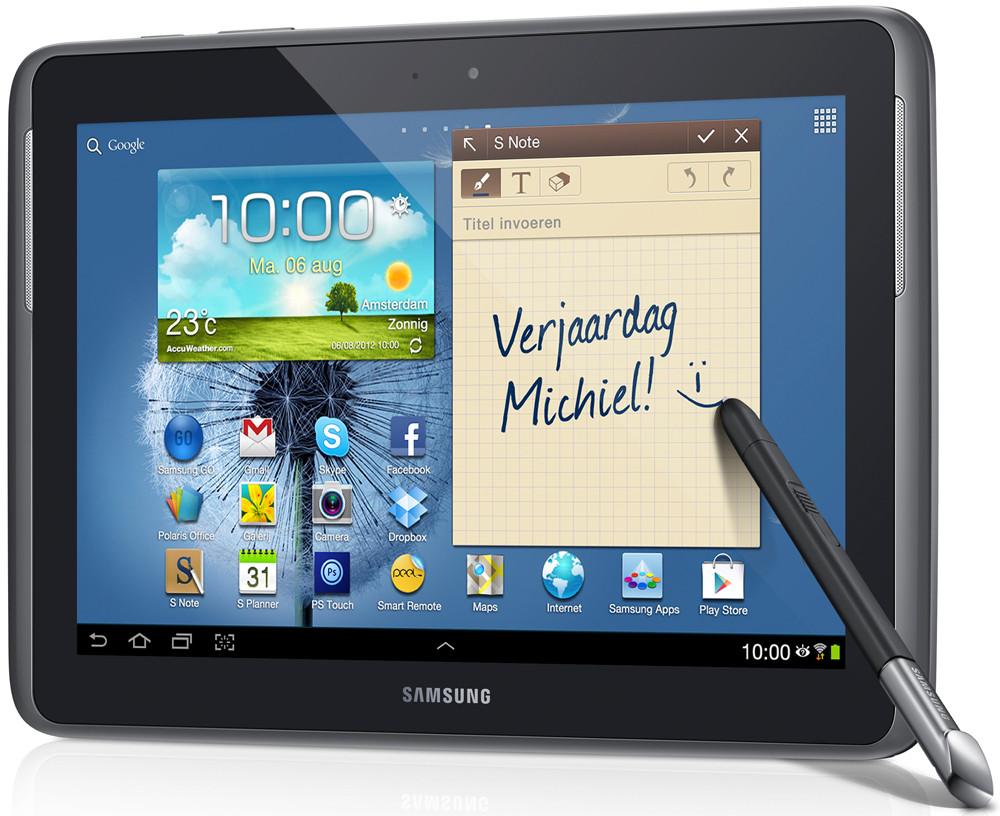 Samsung Galaxy Note 10.1 Wifi Pearl Grey