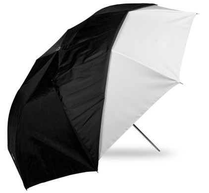 Westcott 109 cm Collapsible Umbrella White/Black