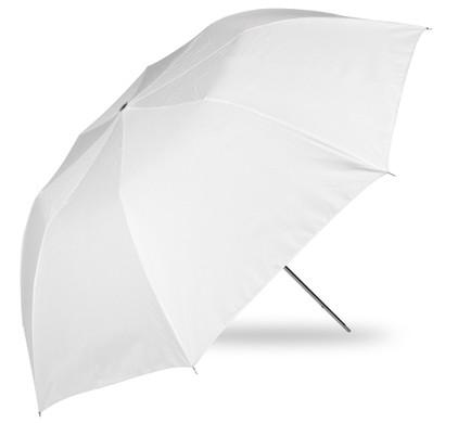 Westcott 109 cm Collapsible Umbrella White