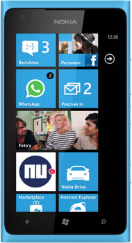 Nokia Lumia 900 Cyan Blue