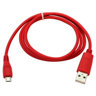 Veripart Micro USB Kabel 0,95 Meter Rood
