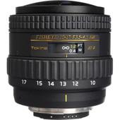 Tokina AT-X 10-17mm f/3.5-4.5 DX Fish-eye Nikon