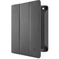Belkin Leather Trifold Folio Stand Black iPad 3 / 4