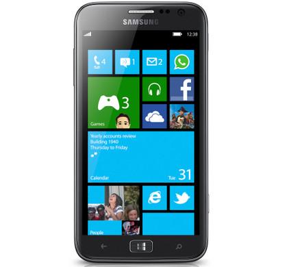 Samsung Ativ S Zwart