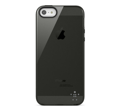 Belkin Grip Vue Back Case Apple iPhone 5/5S/SE Black