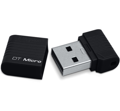 Kingston DataTraveler Micro 16 GB Zwart
