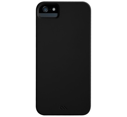Case-Mate Barely There Black Apple iPhone 5/5S/SE