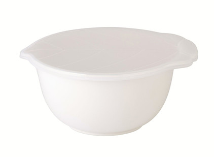 Zak! Desings Preston Mixing Bowl + Deksel Wit 2,5 liter