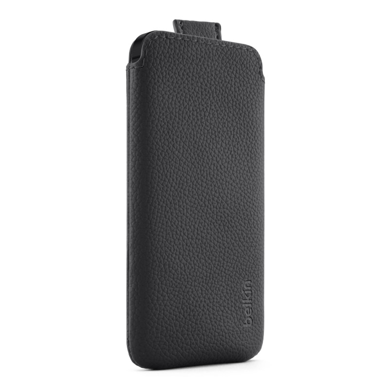 Belkin Leather Pull Case Apple iPhone 5 / 5S Zwart