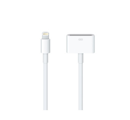 Apple Lightning to 30pins Adapter 0,2 mtr