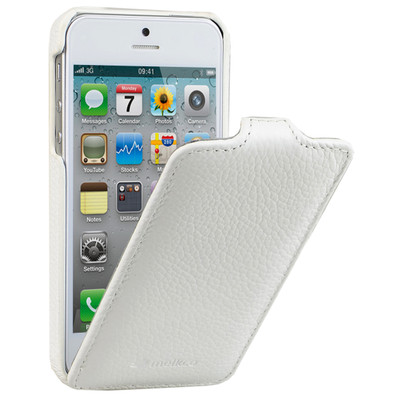 Melkco Leather Case Apple iPhone 5 / 5S White