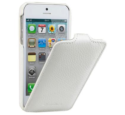 Melkco Leather Case Apple iPhone 5 / 5S White