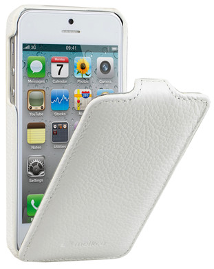 Melkco Leather Case Apple iPhone 5/5S/SE White