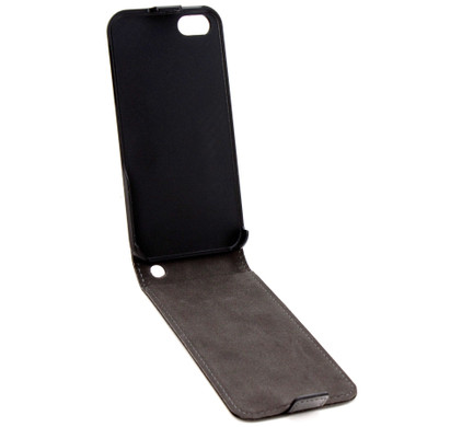 Xqisit Flipcover Apple iPhone 5 / 5S Black