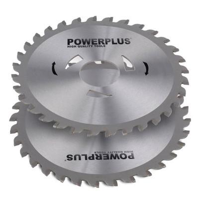 Powerplus zaagbladen 125mm 32T (2stuks)