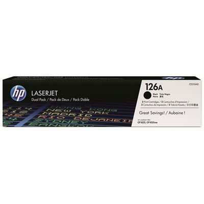 Image of 126A LaserJet tonercartridge, 2-pack (CE310AD)