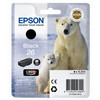Epson 26 Cartridge Zwart L (C13T26014010)
