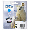 Epson 26 L Cartridge Cyaan - 1
