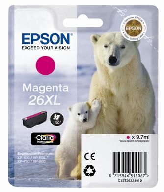 Epson 26 XL Cartridge Magenta (C13T26334010)