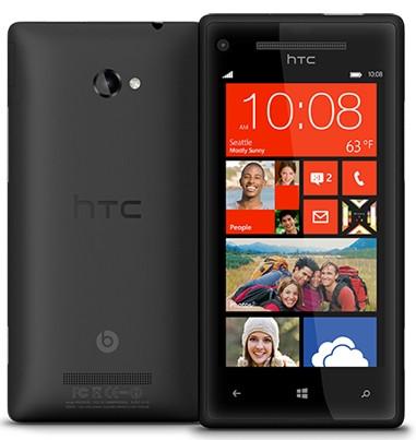 Windows Phone 8X by HTC Zwart