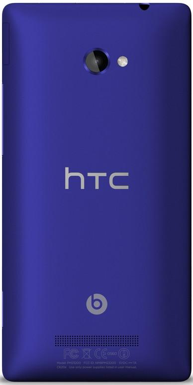 HTC 8X Blauw