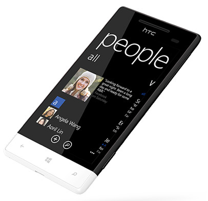 Windows Phone 8S by HTC Zwart/Wit