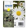 Epson 18 L Inktcartridge Geel C13T18044010