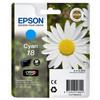 Epson 18 L Inktcartridge Blauw C13T18024010
