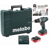 Metabo BS 14,4 Li + 65-delige Toolbox