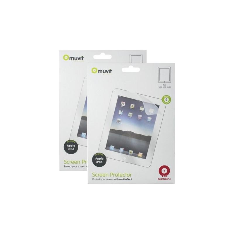 Muvit Screenprotector Apple Ipad Air 2 Duo Pack
