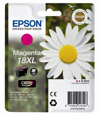 Epson 18 XL Inktcartridge Magenta C13T18134010