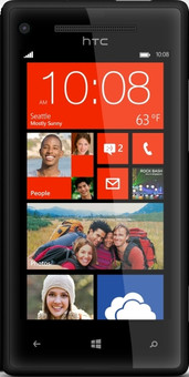 Windows Phone 8X by HTC Zwart
