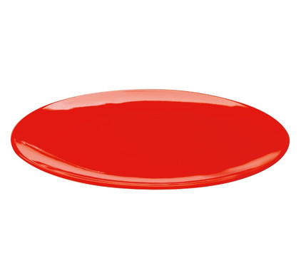 home by ASA A Table Colour-it Plat Bord Ø 27 cm Rood