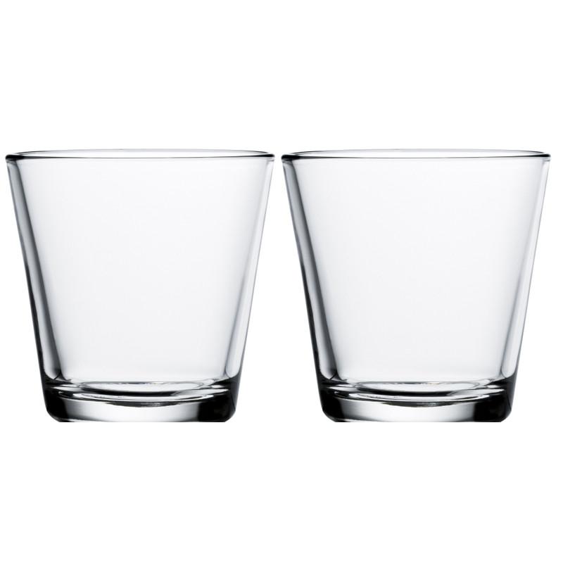 Iittala Kartio Glas 21 Cl Helder (2 Stuks)