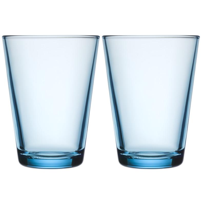 Iittala Kartio Glas 40 Cl Lichtblauw (2 Stuks)