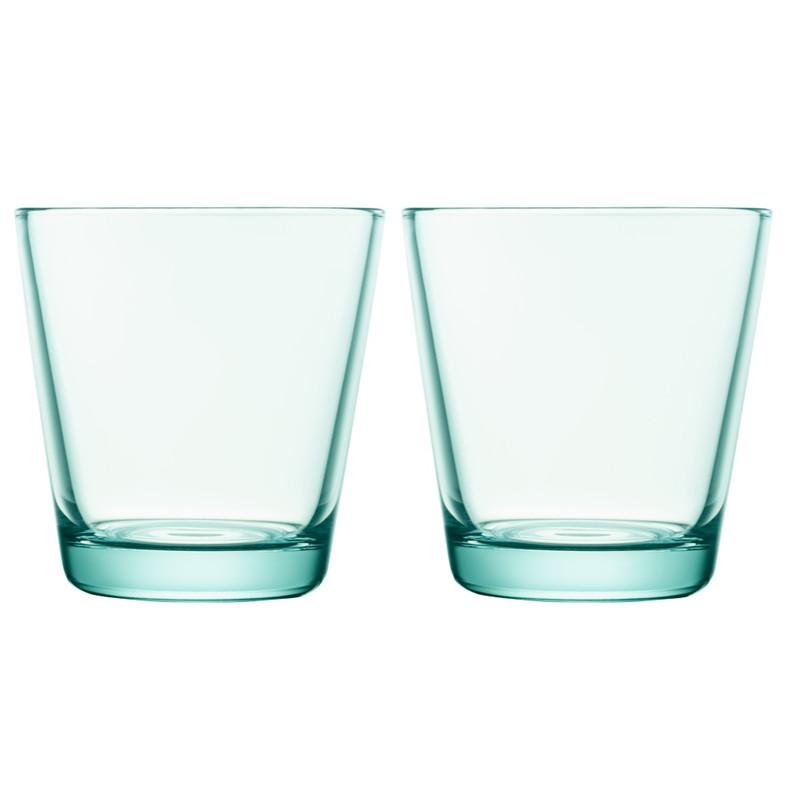 Iittala Kartio Glas 21 Cl Watergroen (2 Stuks)