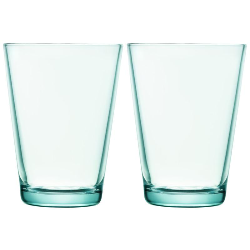 Iittala Kartio Glas 40 Cl Watergroen (2 Stuks)